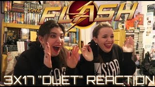 "THE FLASH 3X17 ""DUET"" REACTION"