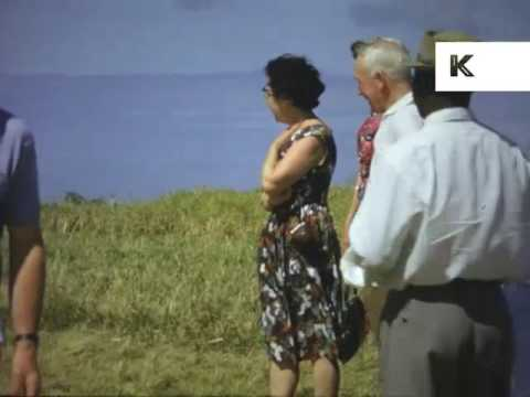 1950s, 1960s Caribbean Life, 16mm Colour Home Movies