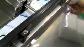 [진공포장기] 상하더블열선형 노즐식 진공포장기 600m…