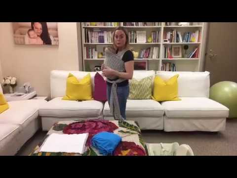 Tips on How to Wear Your Baby aka Babywearing (Facebook Live)