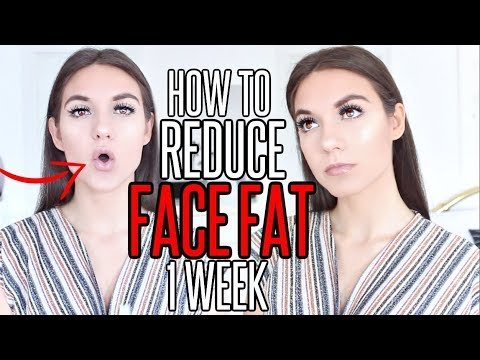 10 Ways To Reduce FACE FAT INSTANTLY