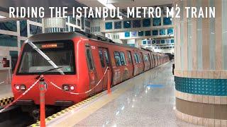 Riding the Istanbul Metro M2 Train