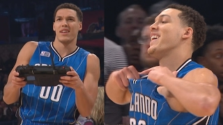 NBA All-Star Slam Dunk Contest 2017! The Drone Dunk Aaron Gordon! Video