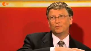 Bill Gates bei Lanz (ZDF) - Impfen gegen Überbevölkerung?