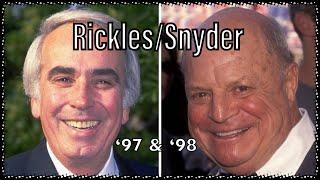 Don Rickles Tom Snyder: 2 Interviews (1997/1998)