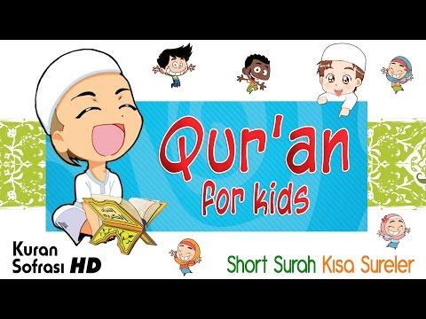 Quran for kids with cartoon - Short Surah - Kısa Sureler thumbnail