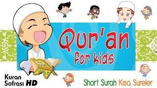 Download Quran for kids with cartoon - Short Surah - Kısa Sureler
