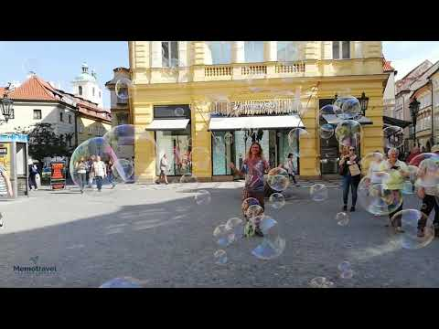 Amazing Bubble Street Artist from Prague