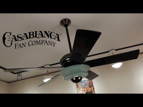 Casablanca Halogen Star Ceiling Fan | 1080p HD Remake
