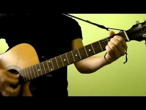 Boulevard of Broken Dreams - Green Day - Easy Guitar Tutorial (No Capo)