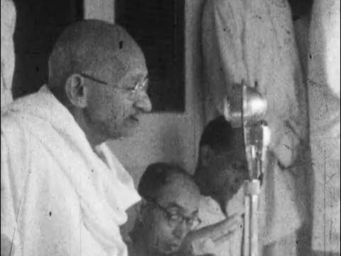 Mahatma Gandhi Noa Khali March (1947)
