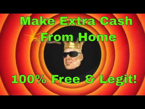Make Fast Extra Couple Hundred a Month Online Legit & Free