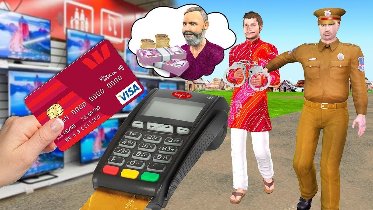 Download क्रेडिट कार्ड Credit Card Comedy Video हिंदी कहानिया Hindi Kahaniya