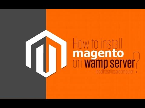 How to install magento on localhost wamp windows 7