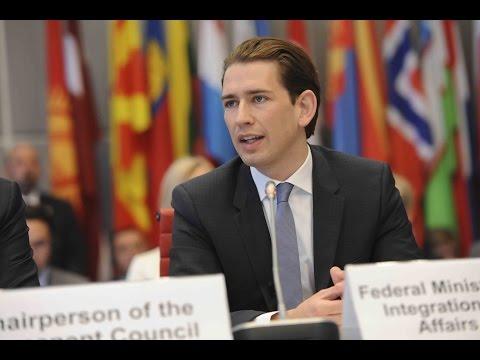 Address by Sebastian Kurz, Minister of Foreign Affairs of Austria
