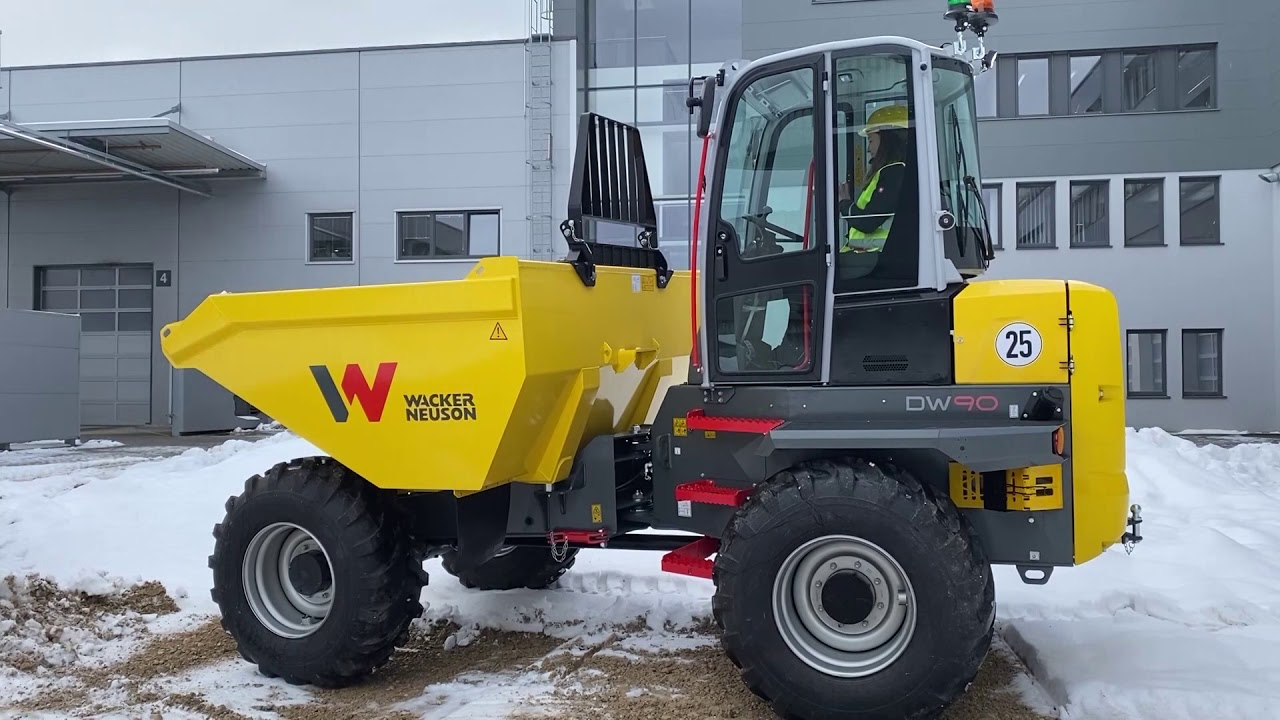 Wacker Neuson DW60 and DW90 wheel dumpers - true all-rounders