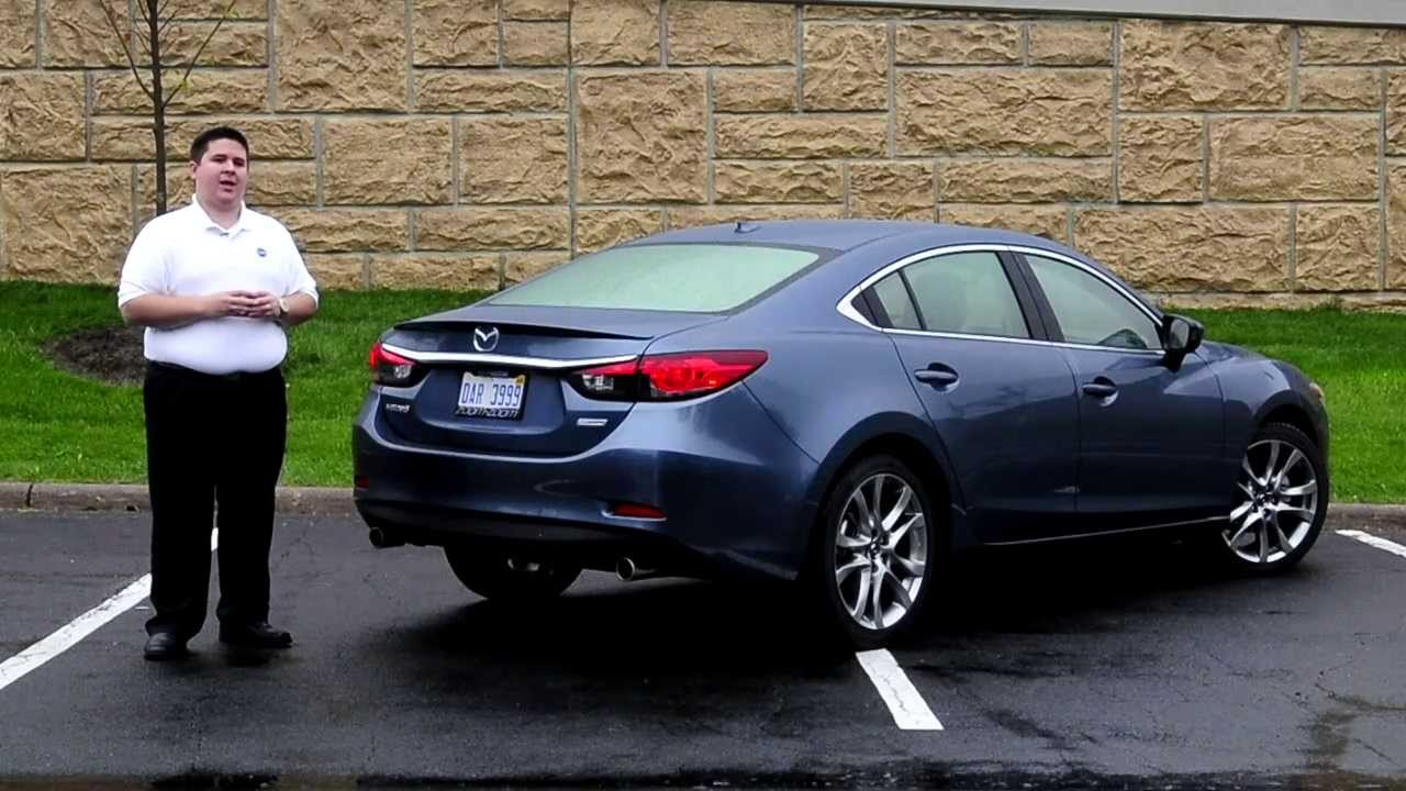 ihs auto reviews 2014 mazda6 grand touring youtube. Black Bedroom Furniture Sets. Home Design Ideas