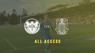 ALL ACCESS: Kom helt tæt på den sene sejr i Hobro | brondby.com