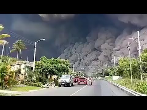 Guatemala eruption 'like Pompeii'