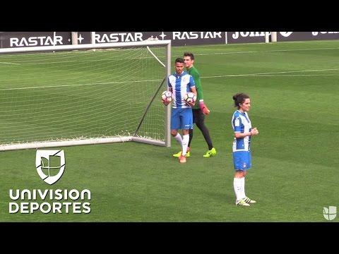 Diego Reyes está contento con el Espanyol y el equipo está contento con él