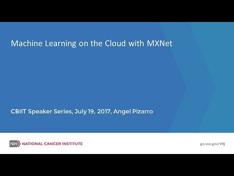 Machine Learning on the Cloud with MXNet