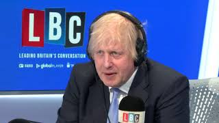 video: Wear a face mask if you're in a queue, says Boris Johnson