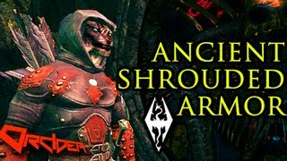 Skyrim: Ancient Shrouded Armor [Dark Brotherhood armor]