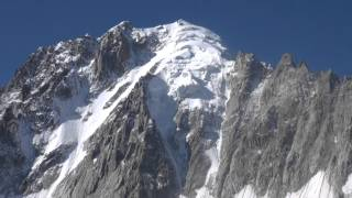 Mont Blanc Helicopter flight in August