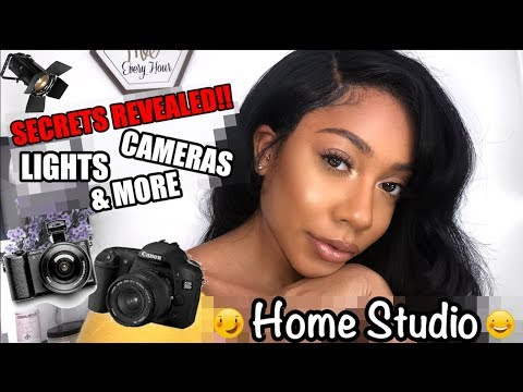 My HOME STUDIO + FILM SET UP | Faceovermatter