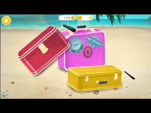Fun Girl Care Kids Game - BFF World Trip Hawaii - Play Spa, Hair Salon, Makeover Fun Games For Girls