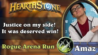 Hearthstone Arena - [Amaz] Justice on my side! It was deserved win!