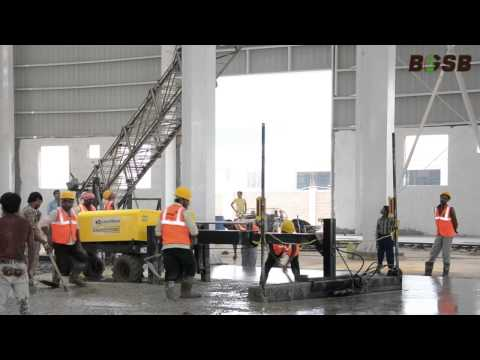 BGSB Laser screed saver video