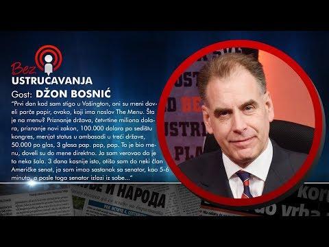 BEZ USTRUČAVANJA - Džon Bosnić: Amerikanci su mi tražili milione dolara za logistiku!