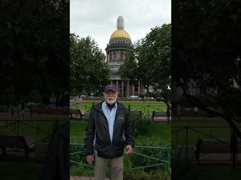 Ron in St Petersburg