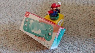 Розпакування та міні-огляд Nintendo Switch Lite!