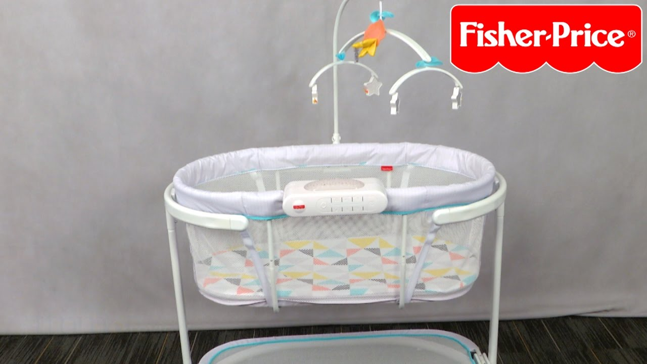 Soothing Motions Bassinet From Fisher Price Youtube