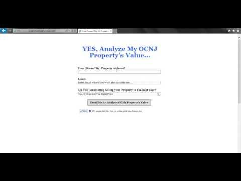 Ocean City NJ Property Value - How much is your property worth in the current market?