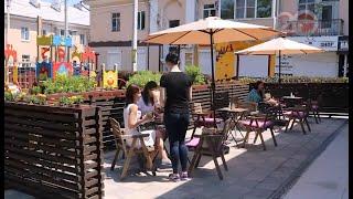 В Уссурийске открылась 21 терраса летних кафе