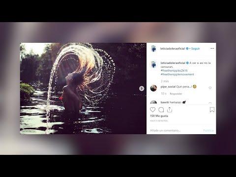 Instagram censura los desnudos de Leticia Dolera y Celia Frejeiro