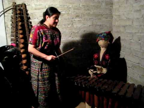 Marimba - Mayan Musical Instruments, Antigua, Guatemala, Central America