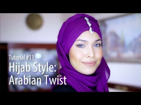 [Adlina Anis] Hijab Tutorial 13 | The Arabian Twist