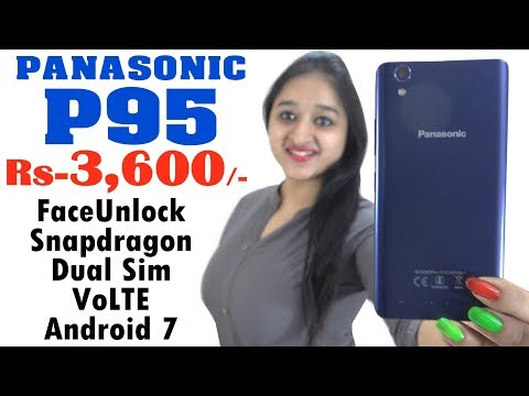 Panasonic P95 , BEST BUDGET PHONE - Unboxing & Overview - In Hindi