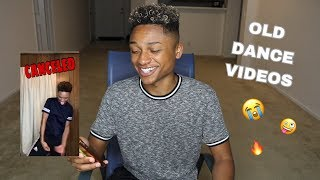 REACTING TO OLD DANCE VIDEOS | Andre Swilley