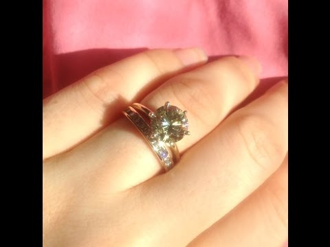 moissanite-ring-with-diamond-band