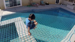 Pool Safety - About Pool Nets - Everything You Need to Know