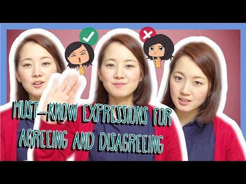 Top 10 Expressions for Agreeing and Disagreeing in Japanese (Việt Sub)
