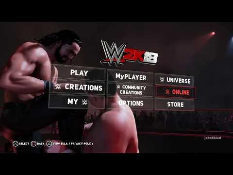 nL Live - WWE 2K18 (Online + RTG) [10/17/17]