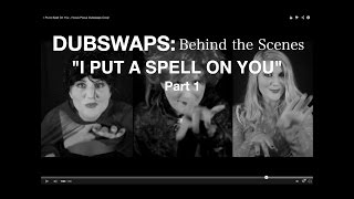 I Put A Spell On You Behind The Scenes Video Part 1