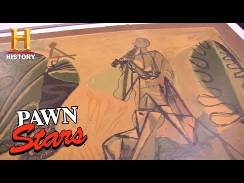 Pawn Stars: The Unnamed Picasso | History