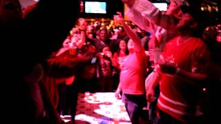 Canadian National Anthem O Canada @ The Holland Heineken House in Richmond, BC, 2010 Winter Olympics